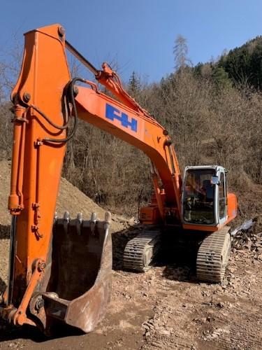 Escavatore Cingolato Fiat-Hitachi EX235