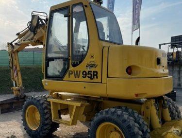 Escavatore Gommato Komatsu PW95